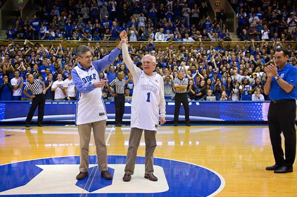 Countdown To Craziness at Cameron Indoor Stadium