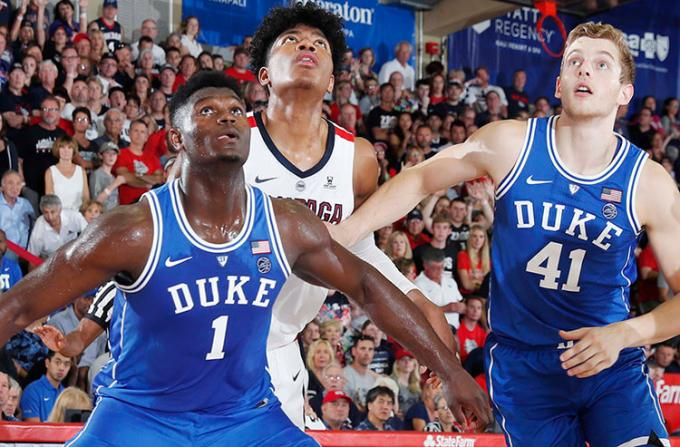 Duke Blue Devils vs. Wofford Terriers at Cameron Indoor Stadium