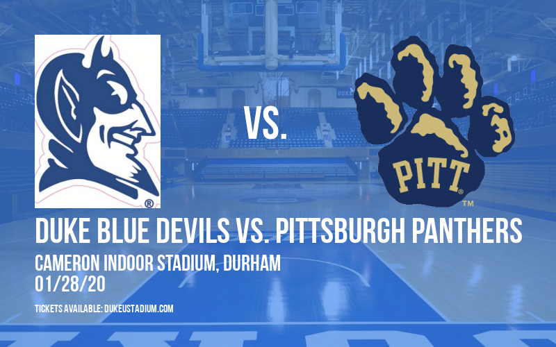 Duke Blue Devils vs. Pittsburgh Panthers at Cameron Indoor Stadium