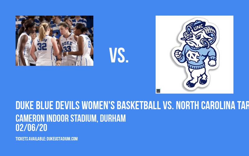 Duke Blue Devils Women's Basketball vs. North Carolina Tar Heels at Cameron Indoor Stadium