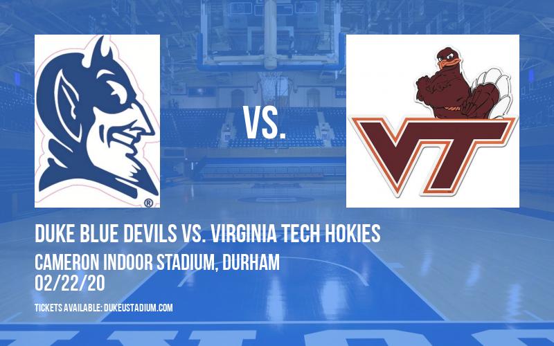 Duke Blue Devils vs. Virginia Tech Hokies at Cameron Indoor Stadium