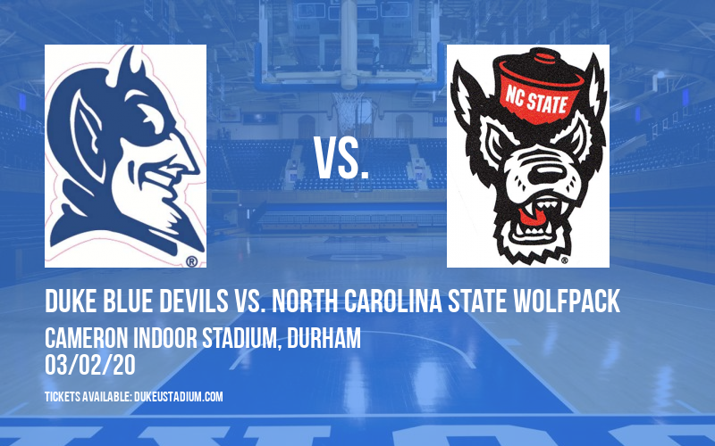 Duke Blue Devils vs. North Carolina State Wolfpack at Cameron Indoor Stadium