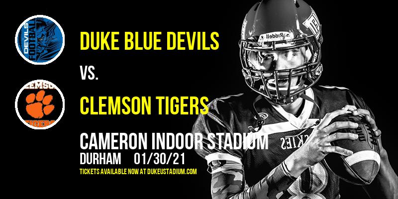Duke Blue Devils vs. Clemson Tigers at Cameron Indoor Stadium
